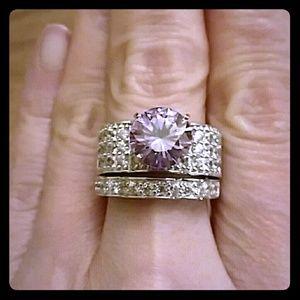 Jewelry - MOISSANITE WEDDING SET
